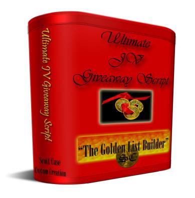 Ultimate JV Giveaway Script